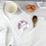 Personalised Unicorn Children's Apron