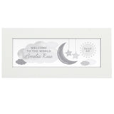 Personalised New Baby Moon & Stars Name Frame
