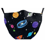 Solar System Face Mask
