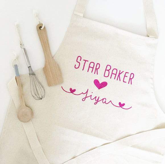 Personalised Star Baker Junior Apron
