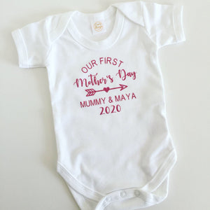 Our First Mother's Day Personalised Vest