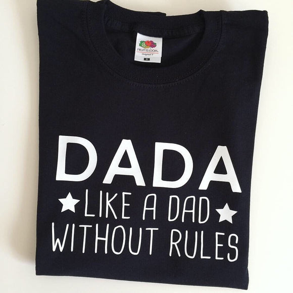 Dada t-shirt - Like a dad - Uncle, Mama, Grandad