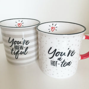 You're Brew-tiful Couple Mug Set