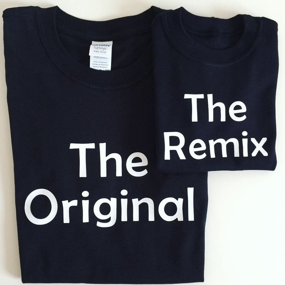 The Original The Remix T-shirt Set