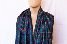 Load image into Gallery viewer, Blue Kani Shawl Red Bordering - the ladakh art palace