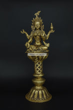 Load image into Gallery viewer, Brass Tara Devi Diya - the ladakh art palace