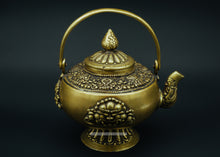 Load image into Gallery viewer, Bronze holy water kettle - the ladakh art palace