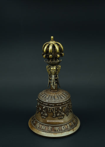 Bronze bell Buddha carving - the ladakh art palace