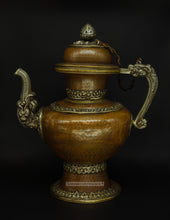 Load image into Gallery viewer, Bronze teapot from Ladakh - the ladakh art palace
