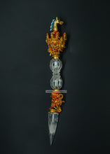 Load image into Gallery viewer, Crystal dagger phurpa - the ladakh art palace