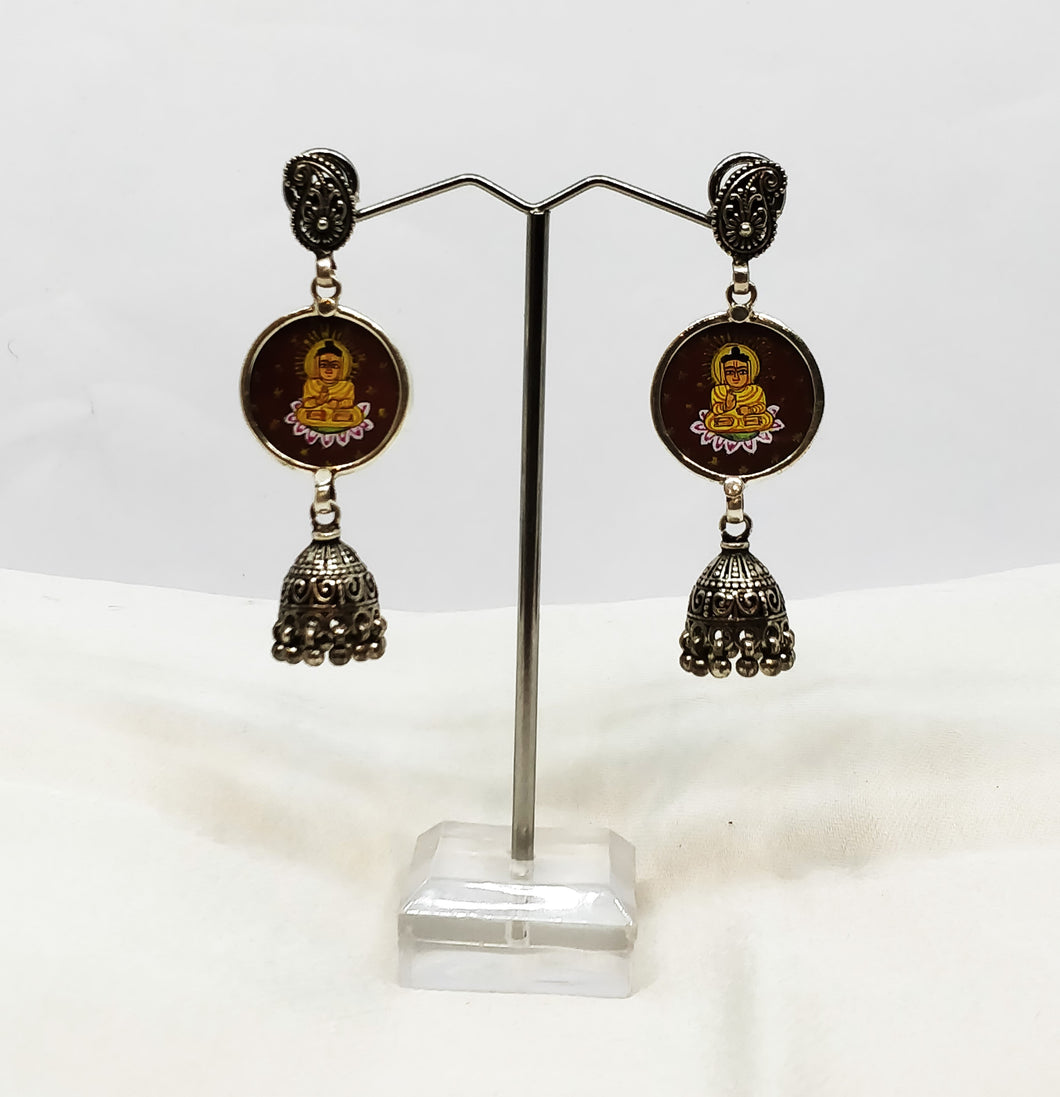 Pure Silver Earring - the ladakh art palace