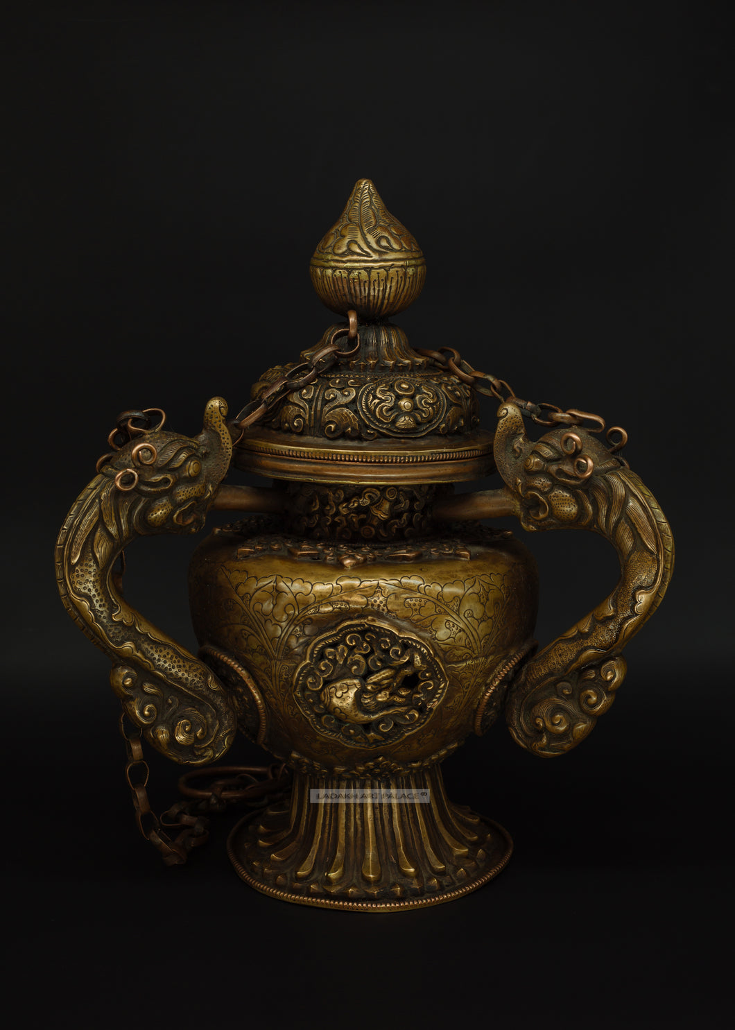 Brass Incense Dispenser - the ladakh art palace