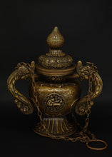 Load image into Gallery viewer, Brass Incense Dispenser - the ladakh art palace