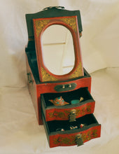 Load image into Gallery viewer, Wooden Jewellery Box - the ladakh art palace