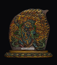 Load image into Gallery viewer, Wooden Vajrapani or Mahakali - the ladakh art palace
