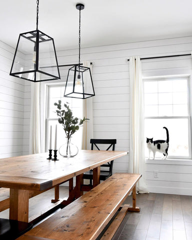 Farmhouse decorating california