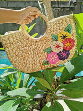 Natural Water Hyacinth Bag, Straw Woven Beach Bags