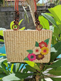 Water Hyacinth Summer Straw Bag
