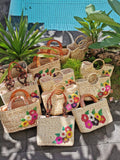 Water Hyacinth Bag handmade in Bali