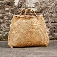 Large Rattan Tote Beach Bali Bag