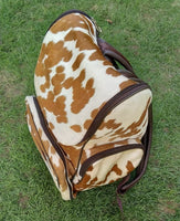 Baseball mommy real cowhide bag