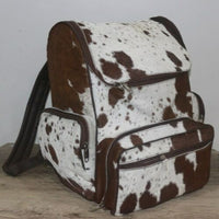 Cowhide Skin Backpack