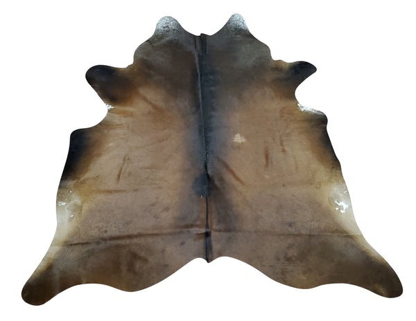 A top quality mahogany cowhide rug with a great feeling, natural and soft hide It looks so beautiful up on the wall or on your wooden floors.