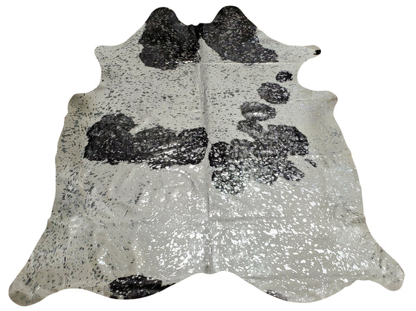 Our silver metallic cowhide rugs are real and natural cow skin rug, animal hide will be a great addition to your. Sourced from Brazil these cowhides are genuine and the top quality. Free shipping all over USA.
