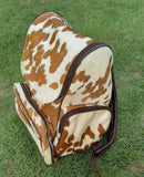 Cowhide Mom Bag Hockey Moms special