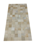 cowhide patchwork rug pier one