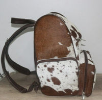 Cowhide Mommy Backpack
