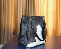 western cowhide purse