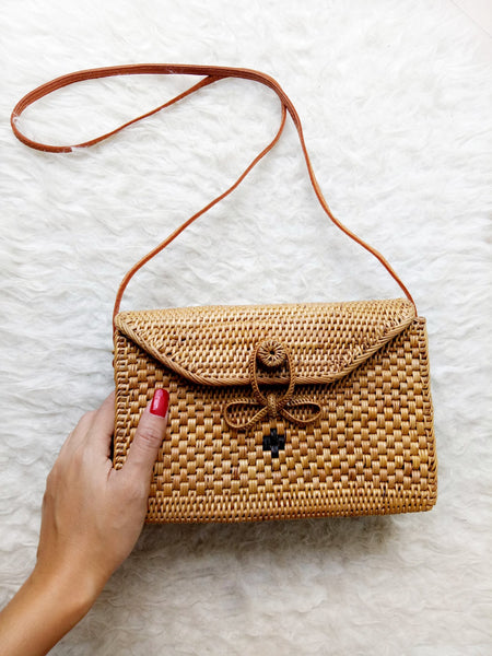 Handmade Rattan Bag Uluwatu Rectangle Bag
