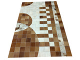Our handcrafted cowhide patchwork rug 8 x 10 are perfect for large room and size