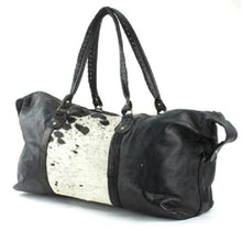 Cow Hair Luggage Bag Gyms Bags