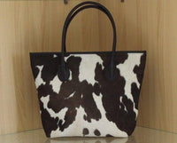 Spotted Calf Hide bucket bag