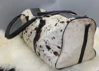 Cowhide Leather Duffle Bag