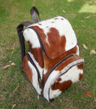 Real Cowhide Leather Western backpack