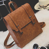 PU Leather Women Backpack