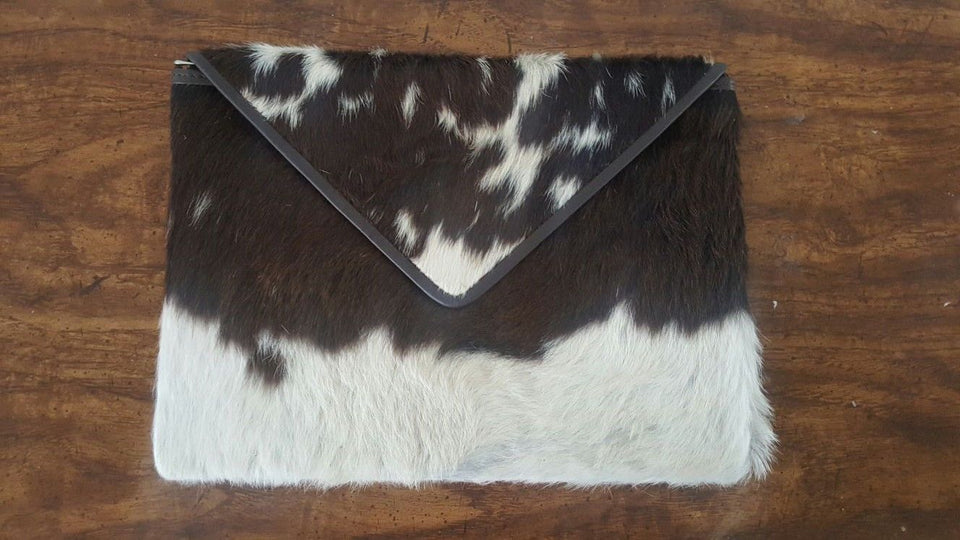 Cowhide Envelope Purse