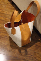 Real cross body cowhide doctor bag