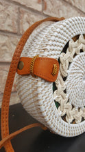 Large Round Straw Bag Wicker