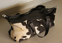 Real Cowhide Duffle Bag