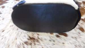 western hair on cowhide purse