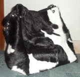 leather and cowhide purses