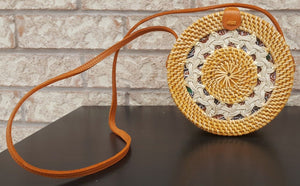 Circle Rattan Bag Paris