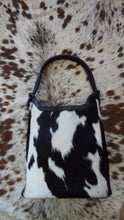 black and white cowhide handbags