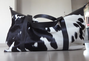 Beautiful Cowhide Duffel Bag