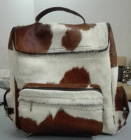 Nice quality of cow skin backpack, gift for family member who travels often.