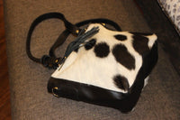 hair on cowhide bags weekender bag